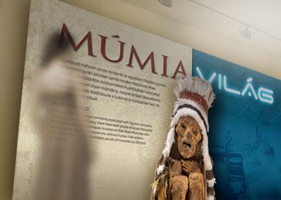 Múmiavilág kiállítás